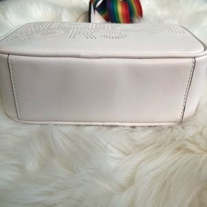 Michael Kors Bags - Michael Kors Lacey Rainbow SM White